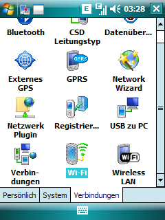 Bluetooth tethering via PAN with Windows Mobile and Ubuntu